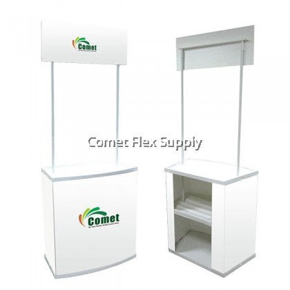 PVC Promotion Table [Square Promotion Counter] High Density Polyester Board [Grade A]