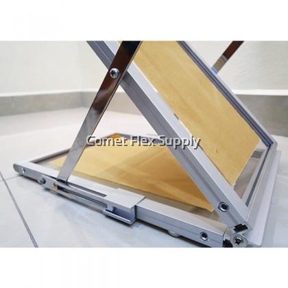 Brochure / Catalogue Shelf Stand [Aluminium, Acrylic]