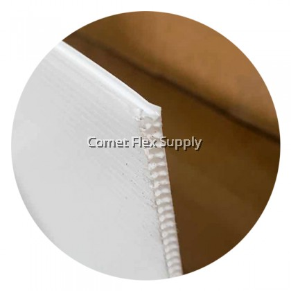 PP Hollow [White] Printing Sheet 2MM / 3MM